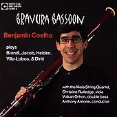 Bravura Bassoon - Villa-Lobos, Brandl, Jacob, etc / Coelho