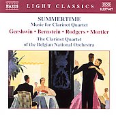 Light Classics - Summertime - Music for Clarinet Quartet
