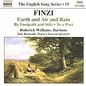 The English Song Series 15 - Finzi / Williams, et al