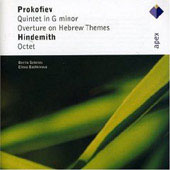 Prokofiev: Quintet In G Minor, Overture On Hebrew Themes/Hindemith: Octet