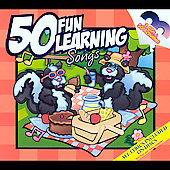 Twin Sisters: 50 Fun Learning Songs [Digipak]