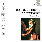R&eacute;cital de harpe / Isabelle Moretti