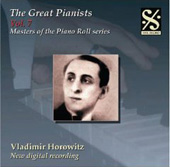 Masters of the Piano Roll - The Great Pianists Vol 7 / Vladimir Horowitz
