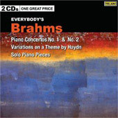 Brahms: Piano Concertos no 1 & 2, Variations on a Theme by Haydn, Solo Piano Pieces
