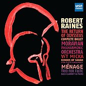Raines: The Return of Odysseus, Echoes of Sarah, etc / Bevia, Bertsche, Douglass, Micka, et al