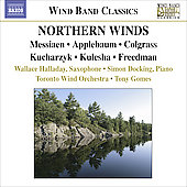 Northern Winds - Wind Band Classics / Gomes, Halladay, Docking, Toronto Wind Orchestra