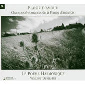 Plaisir d'amour: Chansons & romances de la France d'autrefois