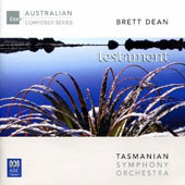 Brett Dean (b.1961): 'Testament' / Tasmanian SO; Lang-Lessing
