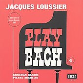 Jacques Loussier: Play Bach, Vol. 4