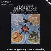 Vivaldi: The Four Seasons / Nils-Erik Sparf