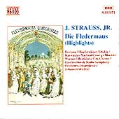J. Strauss, Jr.: Die Fledermaus Highlights / Wildner, et al