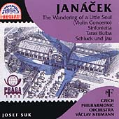 Jan&#225;cek: Violin Concerto, etc / Neumann, Suk, Czech PO