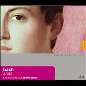 JS Bach; JM Bach; JC Bach; George Melchoir Hoffman: Arias / Gerard Lesne, coutertenor