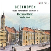 Beethoven: Sonatas for Violoncello & Piano, Vol. 2
