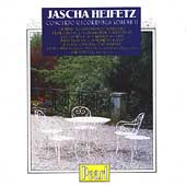 Jascha Heifetz Concerto Recordings Vol II - Brahms, et al
