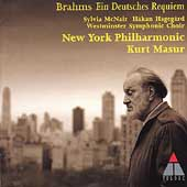Brahms: Ein Deutsches Requiem / Masur, New York Philharmonic