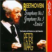 Beethoven: Symphonies no 1 & 3 / Peter Maag, Padova e Veneto