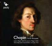 Chopin: Ballade Op. 23; Nocturne Op. 9/1; Sonata No. 2 et al. / Knut Jacques, Pleyel Pianos of 1843 & 1834