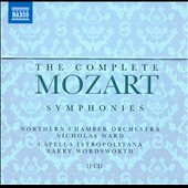 Mozart: The Complete Symphonies / Nicholas Ward; Barry Wordsworth