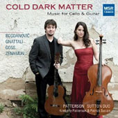 Cold Dark Matter - original works for cello & guitar / Kimberly Patterson, cello; Patrick Sutton, guitar