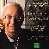Mondonville: Grands Motets / Christie, Les Arts Florissants