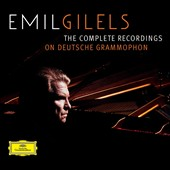 Emil Gilels - The Complete Recordings On Deutsche Grammophon [24 CD Box Set]