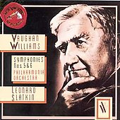 Vaughan Williams: Symphonies nos 5 & 6 / Leonard Slatkin