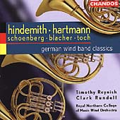 German Wind Band Classics - Hindemith, Hartmann, et al