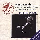 Mendelssohn: Midsummer Night's Dream, etc / Maag, London SO