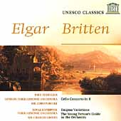 Elgar: Cello Concerto, etc;  Britten / Boult, Groves, et al