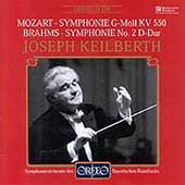 Mozart, Brahms: Symphonies / Keilberth, Bavarian Radio SO