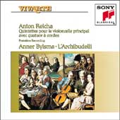 Reicha: Quintets for solo Cello / Bylsma, L'Archibudelli