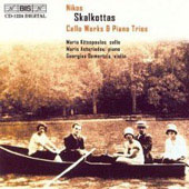 Skalkottas: Cello Works, Piano Trios / Kitsopoulos, et al