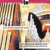 Organ of the Cathedral of Lausanne / Jean Christophe Geiser