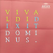 Vivaldi: Dixit Dominus / Peter Kopp, et al