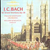 J.C. Bach: Six Grand Overtures Op 18 / Boughton, English SO