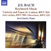 J.S. Bach: Keyboard Music / Jen&ouml; Jand&oacute;