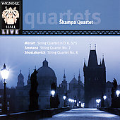 Mozart, Smetana, etc: String Quartets / Skampa Quartet