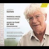 Haydn: Theresa Mass, Mass in Time of War / Rilling, Ziesak, Danz, Welch, Speer, Prégardien, et al