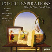Poetic Inspirations - Hindemith, Klughardt, Loeffler, Yano, White / Klein, Young, Castro