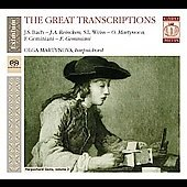 The Great Transcriptions - Weiss, Reincken, Geminiani / Olga Martynova