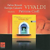 Vivaldi: Laudate Puieri, Motets, etc / Patrizia Ciofi, Fabio Biondi, et al