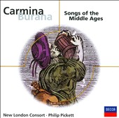 Carmina Burana, Songs of the Middle Ages