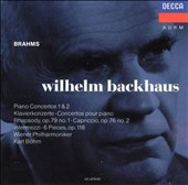 Wilhelm Backhaus Plays Brahms