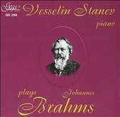 Vessilin Stanev plays Johannes Brahms
