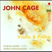 Cage: Violin & Piano