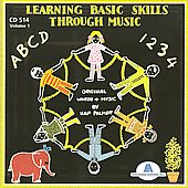 Hap Palmer: Learning Basic Skills Through Music, Vol. 1