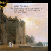 Stanley: Six Concertos in Seven Parts