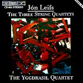 Leifs: The Three String Quartets / The Yggdrasil Quartet