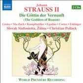 J. Strauss Jr: Die Gottin Der Vernunft / Pollack, Kumpfmuller, Cortez, Mittermeier, Fodinger